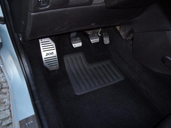 PEUGEOT 206 PEDALS AND FOOTREST - Quality interior & exterior steel car accessories and auto parts