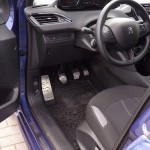 PEUGEOT 208 PEDALS AND FOOTREST - Quality interior & exterior steel car accessories and auto parts