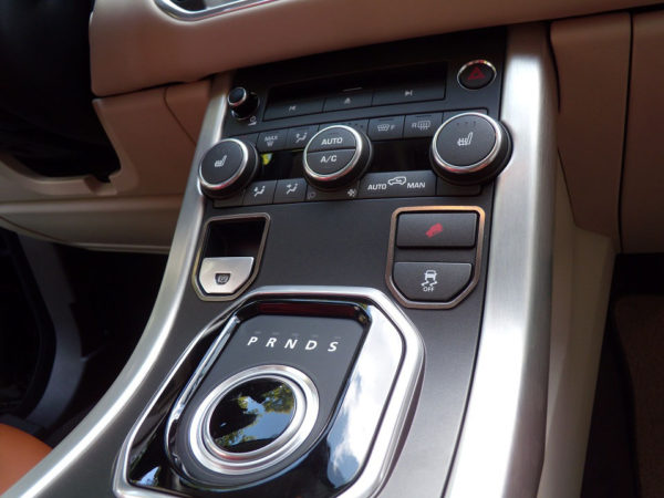 RANGE ROVER EVOQUE CENTER BUTTONS COVER - Quality interior & exterior steel car accessories and auto parts