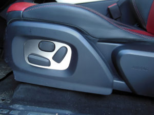 RANGE ROVER EVOQUE SEAT ADJUSTMENT COVER - Quality interior & exterior steel car accessories and auto parts