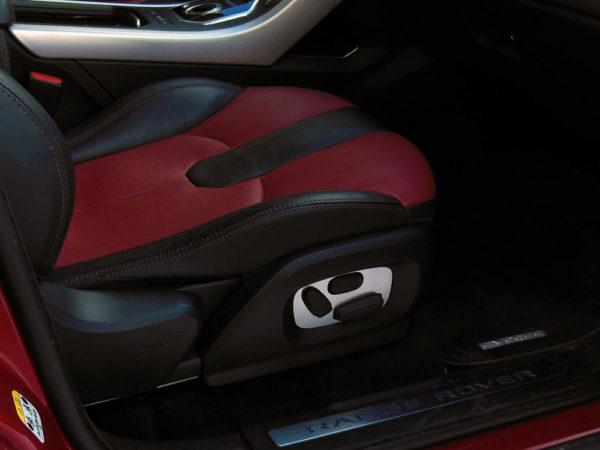 RANGE ROVER EVOQUE SEAT ADJUSTMENT COVER - Quality interior & exterior steel car accessories and auto parts