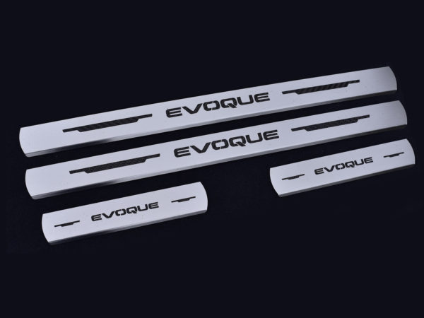 RANGE ROVER EVOQUE DOOR SILLS - Quality interior & exterior steel car accessories and auto parts
