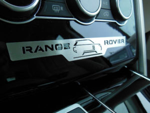 RANGE ROVER EMBLEM COVER - Quality interior & exterior steel car accessories and auto parts