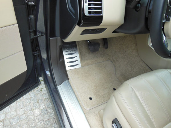 RANGE ROVER FOOTREST - Quality interior & exterior steel car accessories and auto parts