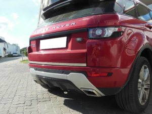 RANGE ROVER EVOQUE TRUNK TRIM COVER - Quality interior & exterior steel car accessories and auto parts