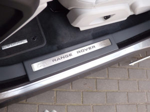 RANGE ROVER EVOQUE DOOR SILLS - Quality interior & exterior steel car accessories and auto parts