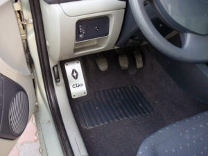 RENAULT CLIO FOOTREST - Quality interior & exterior steel car accessories and auto parts