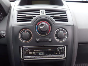 RENAULT MEGANE II CLIMATE CONTROL KNOBS COVER - Quality interior & exterior steel car accessories and auto parts