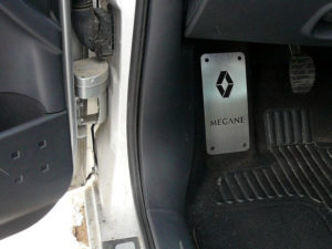RENAULT MEGANE II FOOTREST - Quality interior & exterior steel car accessories and auto parts