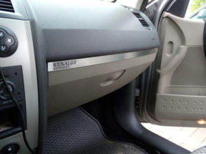 RENAULT MEGANE II ABOVE GLOVE BOX COVER - Quality interior & exterior steel car accessories and auto parts