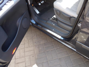 RENAULT ESPACE REAR DOOR SILLS - Quality interior & exterior steel car accessories and auto parts