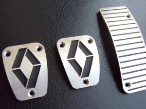 RENAULT MEGANE II PEDALS - Quality interior & exterior steel car accessories and auto parts