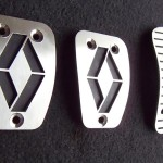 RENAULT CLIO II PEDALS - Quality interior & exterior steel car accessories and auto parts