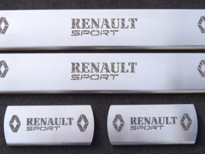 RENAULT CLIO III IV DOOR SILLS - Quality interior & exterior steel car accessories and auto parts