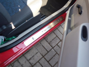 RENAULT TWINGO II DOOR SILLS - Quality interior & exterior steel car accessories and auto parts