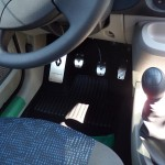 RENAULT TWINGO II PEDALS AND FOOTREST - Quality interior & exterior steel car accessories and auto parts
