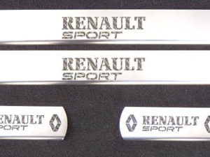 RENAULT MEGANE II DOOR SILLS - Quality interior & exterior steel car accessories and auto parts