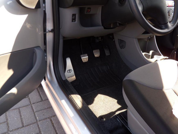 TOYOTA AYGO PEDALS - Quality interior & exterior steel car accessories and auto parts