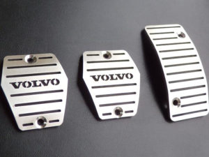 VOLVO S40 V50 C30 C70 PEDALS AND FOOTREST - Quality interior & exterior steel car accessories and auto parts