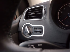 VW POLO V DIM LIGHT CONTROL COVER - Quality interior & exterior steel car accessories and auto parts