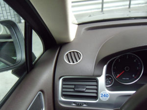 VW TOUAREG DEFROST VENT COVER - Quality interior & exterior steel car accessories and auto parts
