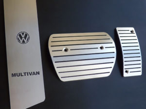 VW TRANSPORTER T5 PEDALS AND FOOTREST - Quality interior & exterior steel car accessories and auto parts