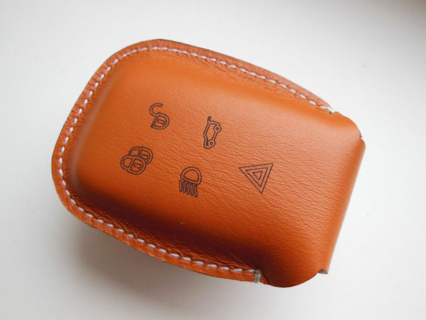 LAND ROVER DISCOVERY 4 LEATHER KEY HOLDER - Quality interior & exterior steel car accessories and auto parts