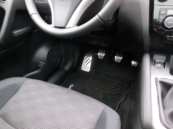 NISSAN QASHQAI II FOOTREST - Quality interior & exterior steel car accessories and auto parts