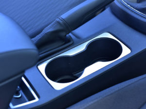 SEAT LEON III CENTER CONSOLE CUP HOLDER COVER - Quality interior & exterior steel car accessories and auto parts