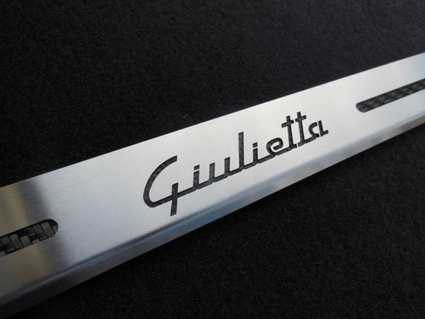ALFA ROMEO GIULIETTA DOOR SILLS - Quality interior & exterior steel car accessories and auto parts
