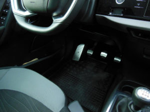 CITROEN C4 PICASSO PEDALS AND FOOTREST - Quality interior & exterior steel car accessories and auto parts