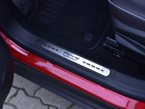 FIAT 500 X DOOR SILLS - Quality interior & exterior steel car accessories and auto parts