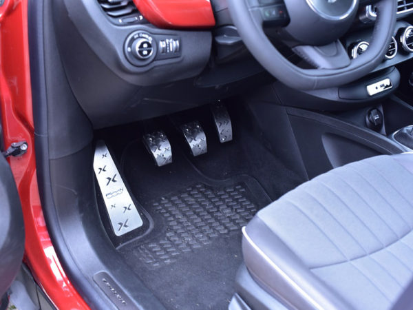 FIAT 500 X PEDALS AND FOOTREST - Quality interior & exterior steel car accessories and auto parts