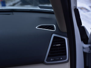 HYUNDAI TUCSON DEFROST VENT COVER - Quality interior & exterior steel car accessories and auto parts