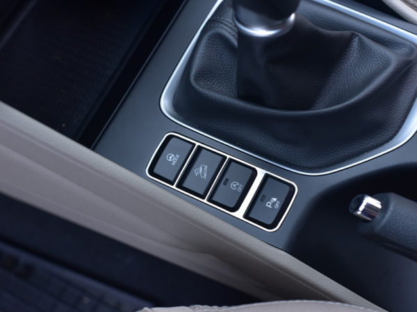 HYUNDAI TUCSON CENTER BUTTONS COVER - Quality interior & exterior steel car accessories and auto parts
