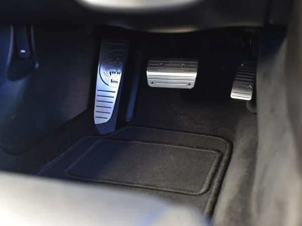 JAGUAR XK PEDALS AND FOOTREST - Quality interior & exterior steel car accessories and auto parts