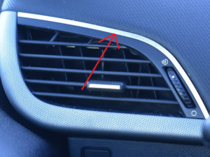 PEUGEOT 207 AIR VENT COVER - Quality interior & exterior steel car accessories and auto parts