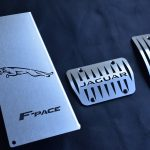 JAGUAR F-PACE PEDALS AND FOOTREST - Quality interior & exterior steel car accessories and auto parts