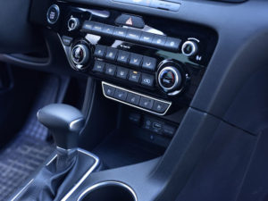 KIA SPORTAGE HEATING CONTROLS COVER - Quality interior & exterior steel car accessories and auto parts