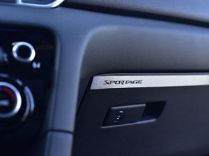 KIA SPORTAGE GLOVE BOX COVER - Quality interior & exterior steel car accessories and auto parts
