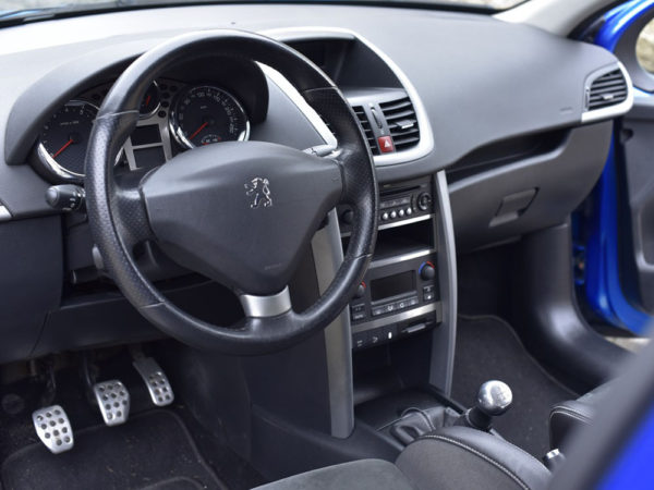 PEUGEOT 207 CENTER CONSOLE COVER - Quality interior & exterior steel car accessories and auto parts