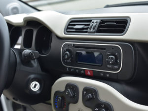 FIAT PANDA III RADIO CONSOLE COVER - Quality interior & exterior steel car accessories and auto parts