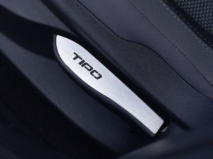 FIAT TIPO FRONT SEAT EMBLEM COVER - Quality interior & exterior steel car accessories and auto parts
