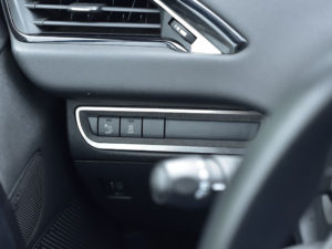 PEUGEOT 208 2008 ASSIST SYSTEM BUTTONS COVER - Quality interior & exterior steel car accessories and auto parts