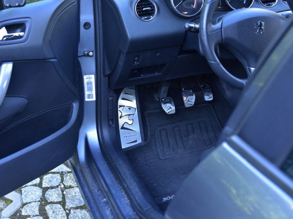 PEUGEOT 307 308 FOOTREST - Quality interior & exterior steel car accessories and auto parts