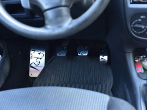PEUGEOT 206 PEDALS - Quality interior & exterior steel car accessories and auto parts