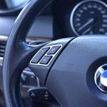 BMW 5 E60 STEERING WHEEL CONTROLS COVER - Quality interior & exterior steel car accessories and auto parts