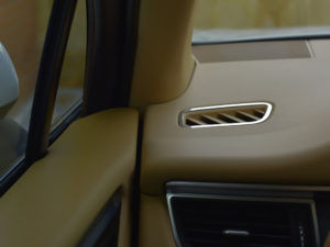 PORSCHE MACAN AIR VENT COVER - Quality interior & exterior steel car accessories and auto parts