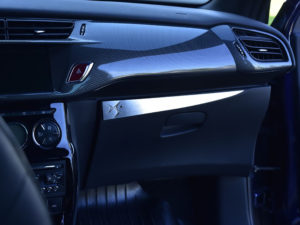 CITROEN DS3 ABOVE GLOVE BOX COVER - Quality interior & exterior steel car accessories and auto parts