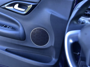 CITROEN DS3 SPEAKER COVER - Quality interior & exterior steel car accessories and auto parts